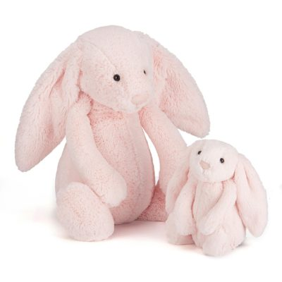 Read more about Jellycat Medium Pink Bashful Bunny Soft Toy