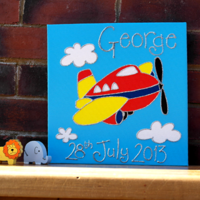 Read more about Personalised Plane Canvas Picture