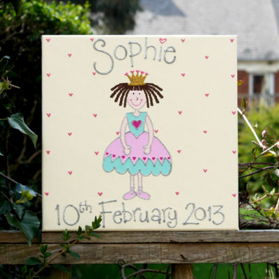 Read more about Princess Personalised Canvas Picture