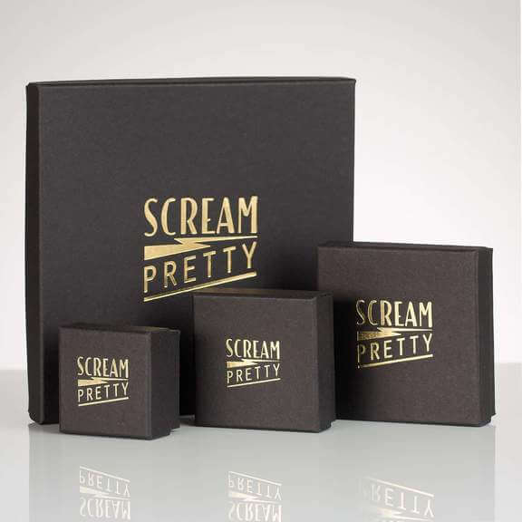 Scream Pretty presentation gift boxes