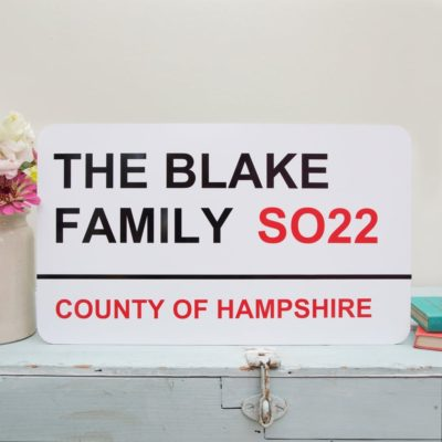 Read more about Personalised Street Sign