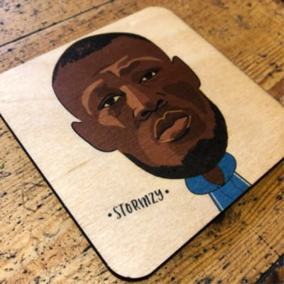 Read more about Stormzy Wooden Coaster