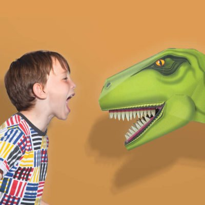 Read more about Build A Terrible T-Rex Head
