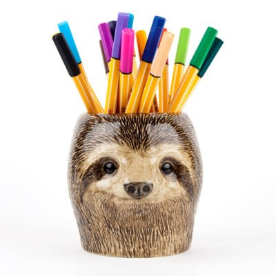Read more about Sloth Pencil Pot By Quail Ceramics