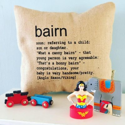 Read more about Bairn Colloquial Cushion