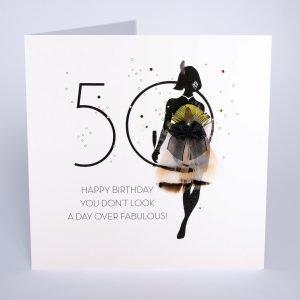 50 fabulous card