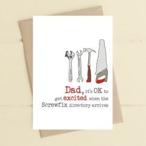 Dad Screwfix card