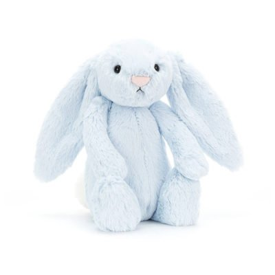 Read more about Jellycat Medium Blue Bashful Bunny Soft Toy