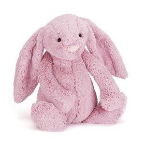 big cuddly bunny from jellycat. 51cm bashful bunny in tulip pink