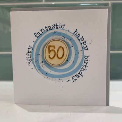 Read more about Woodcut 50th Birthday Card