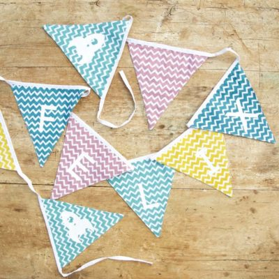 Read more about Personalised Chevron Bunting