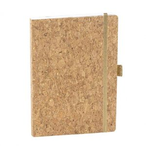 A5 notebook with cork cover