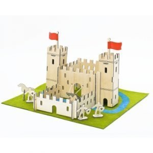 A fabulous build your own castle kit in a neat gift tin. A perfect gift for a child aged 8 or over
