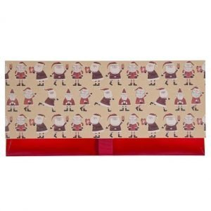 A christmas gift envelope for giving a voucher or money as a gift at christmas