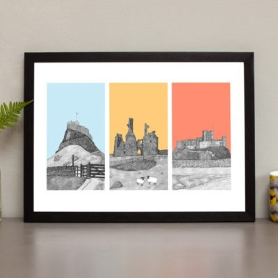 Read more about Coastal Castles of Northumberland Print