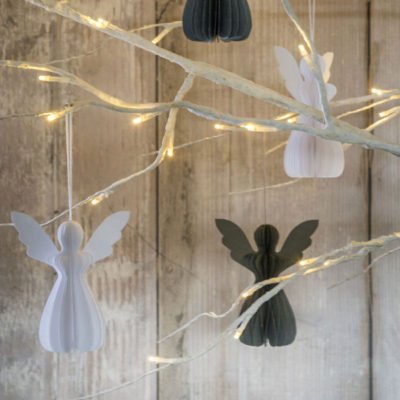 Read more about Paper Angel Hanging Decorations