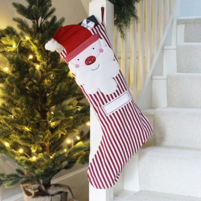 Read more about Santa Claus Personalised Christmas Stocking