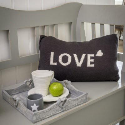 Read more about Knitted Love Cushion