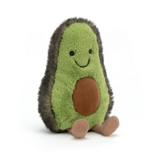 A fabulous avocado soft toy in a choice of two sizes