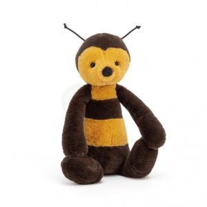 A cuddly Jellycat bumble bee