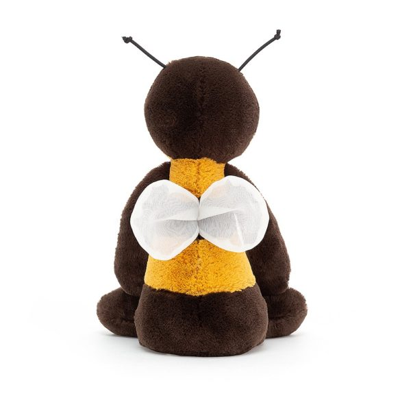 The back of the Jellycat Bashful Bee