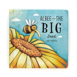 The front cover of the book Albee the Big Bee