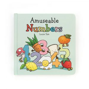 A fun children's book from Jellycat. Learn all about number with this colourful little book.