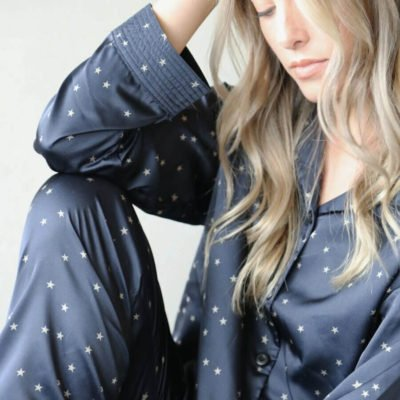 Read more about Tutti & Co Luxury Navy Starlight Pyjama Set