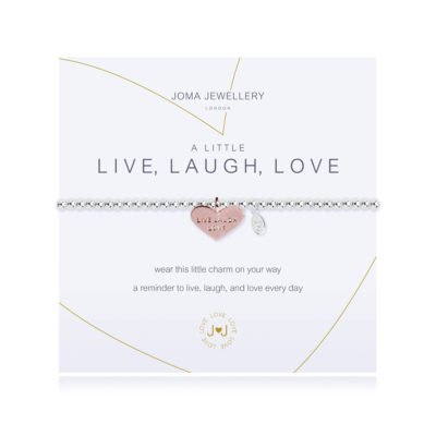 Read more about A Little Live, Laugh, Love Bracelet