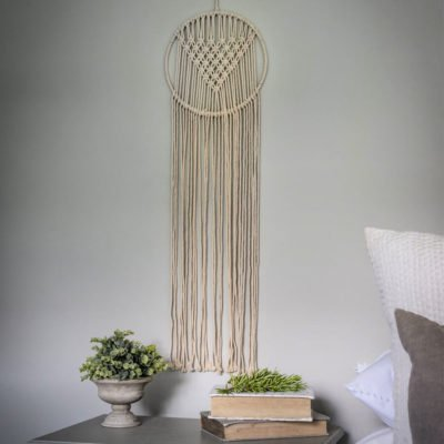 Read more about Hand Woven Wall Hanging Macrame Dream Catcher