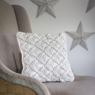 Read more about Hand Woven Ivory Macrame Cushion